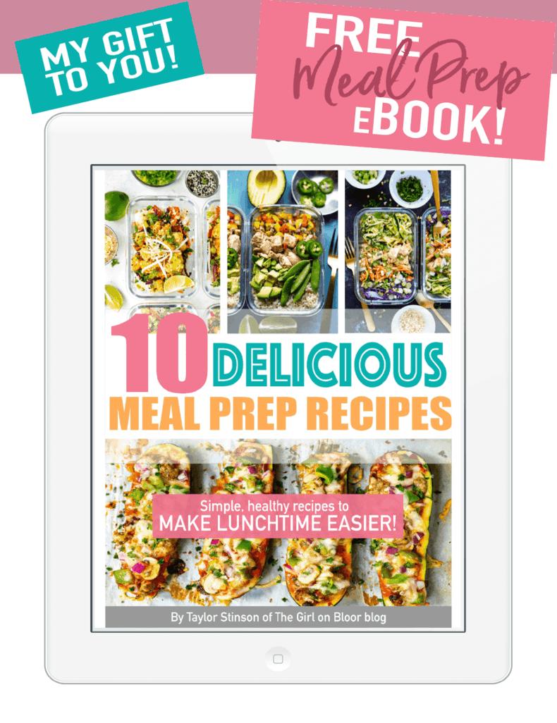 Free Meal Prep Ebook
