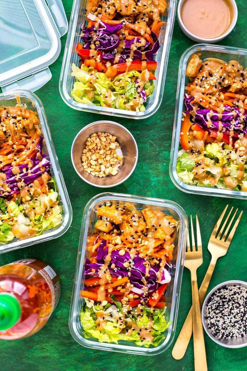 These 20 Easy, Healthy Meal Prep Lunch Ideas for Work are the perfect way to stay on track with your weekly meal planning - these meal prep bowls are creative, delicious ways to eat healthy and stay organized during busy work weeks, and they're perfect for meal planning on a budget too!