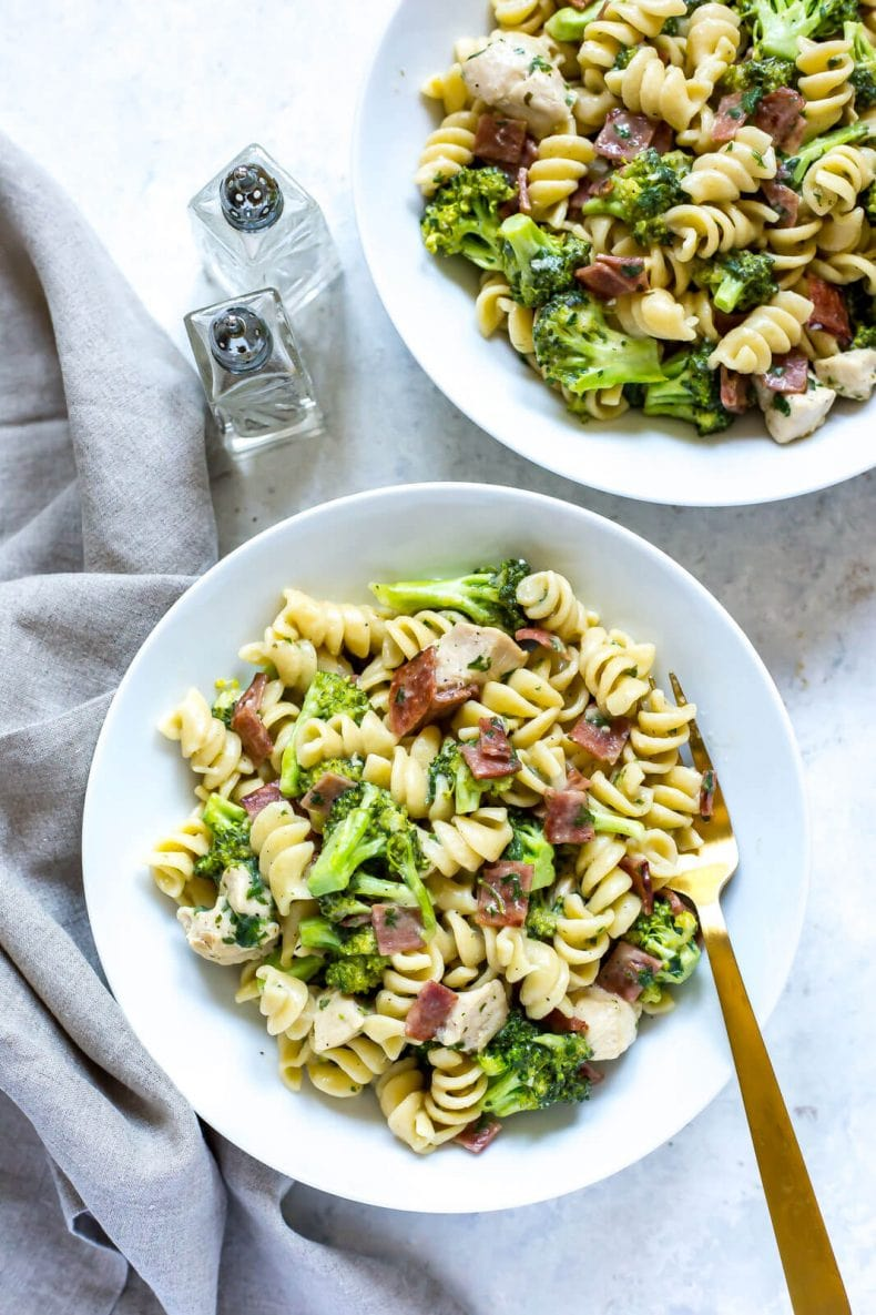 Instant Pot Chicken Bacon Ranch Pasta