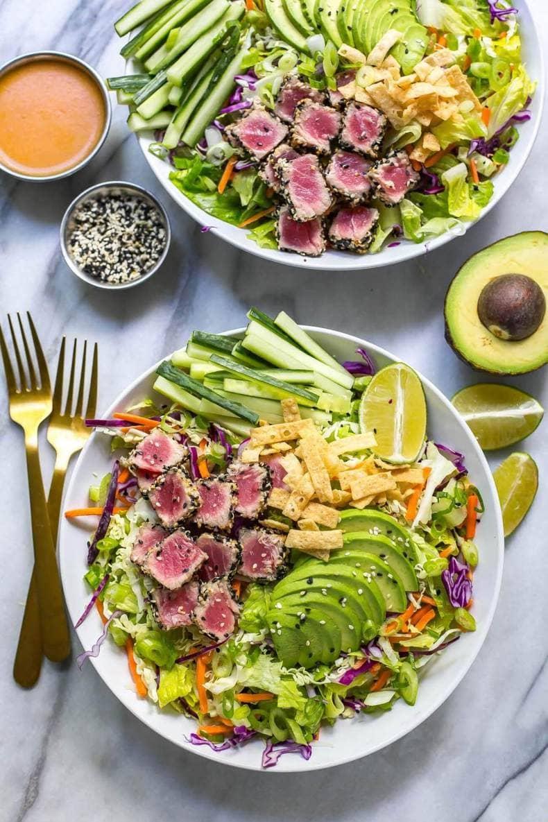 Meal Prep Summer Salad Recipes