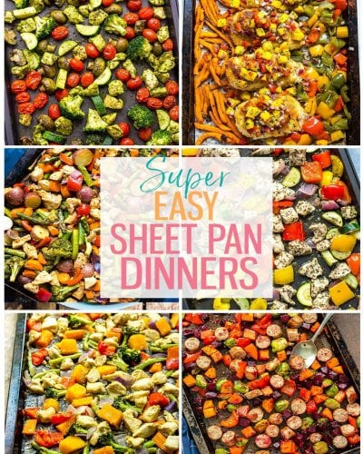 25 Super Easy Sheet Pan Dinners