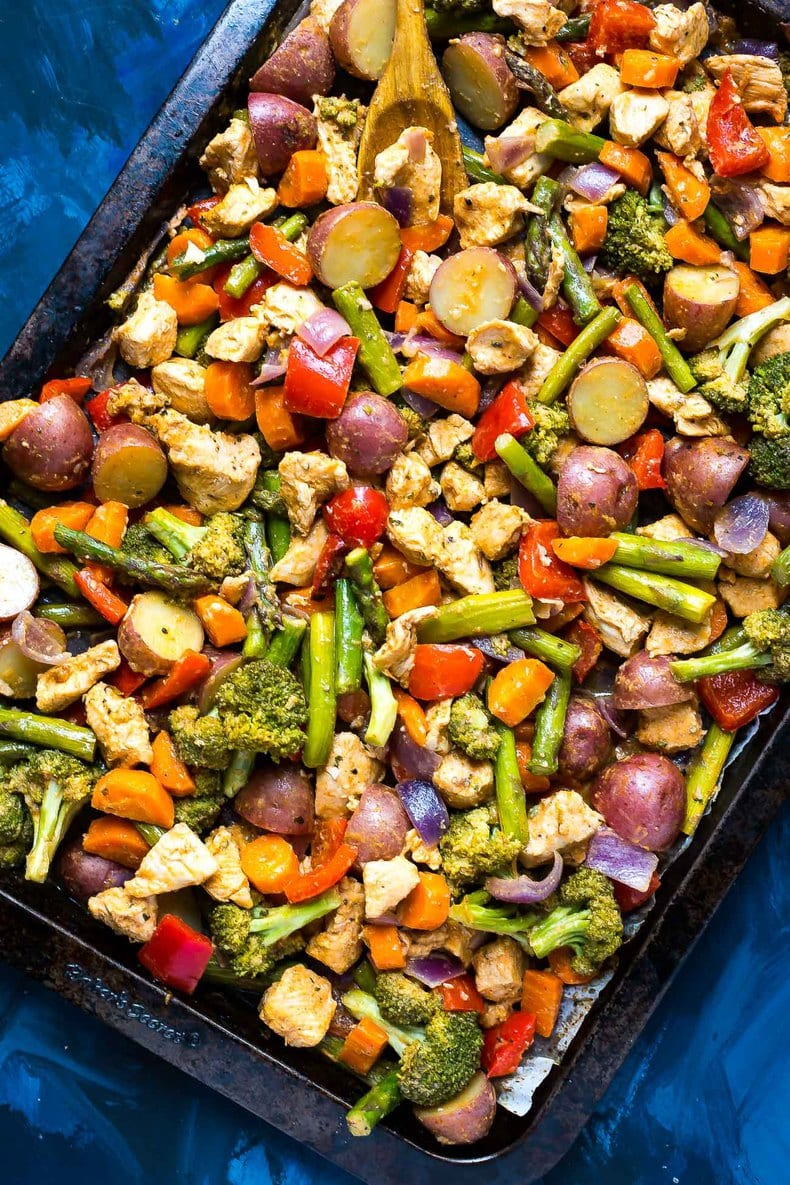 25 Super Easy Sheet Pan Dinners For Busy Weeknights The