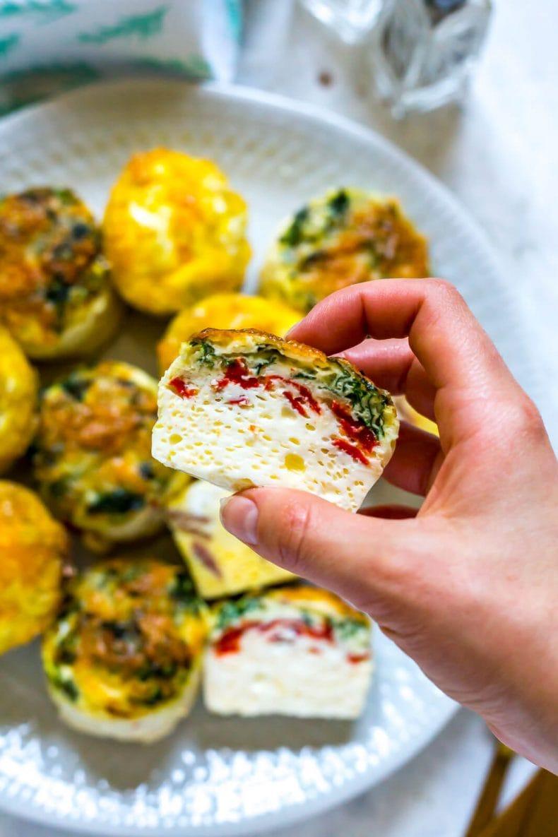 Copycat Oven-Baked Starbucks Egg Bites