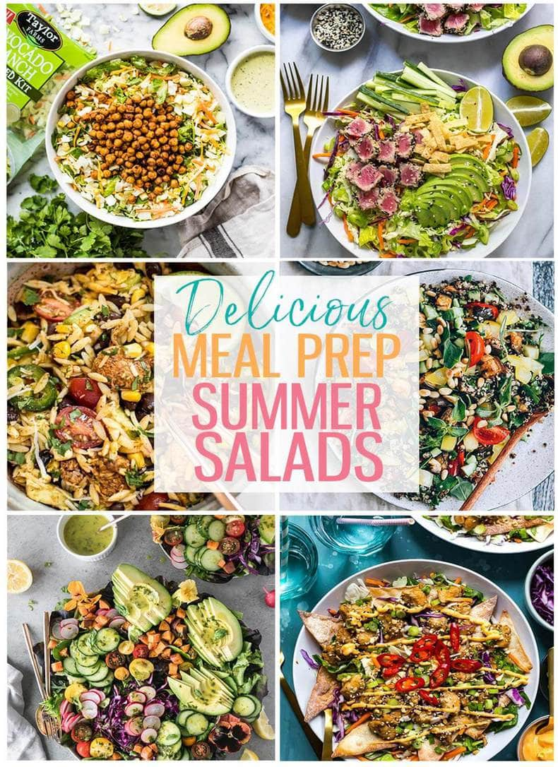 15 Delicious Meal Prep Salads Perfect for Summer