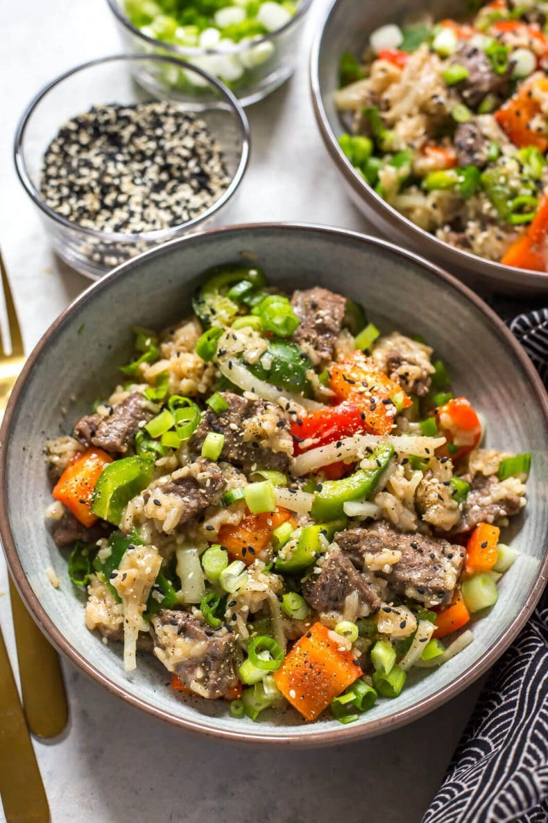Easy Instant Pot Pepper Steak