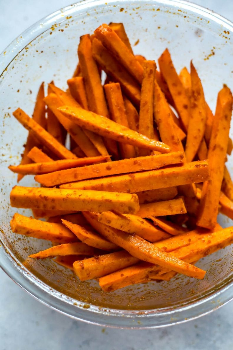 Airfryer Sweet Potato Fries
