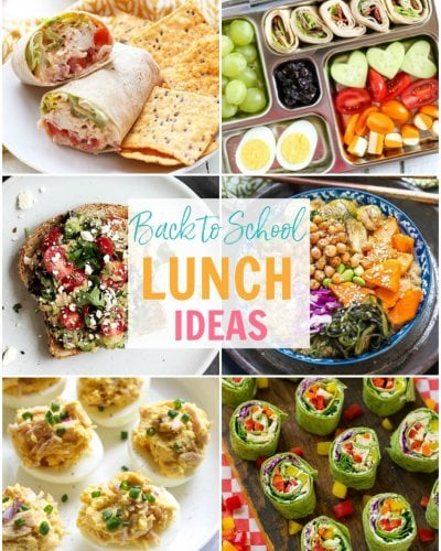 20 Easy Meal Prep School Lunch Ideas