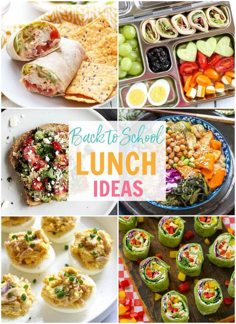 20 Easy Meal Prep School Lunch Ideas The Girl On Bloor