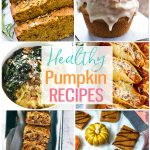 healthy pumpkin recipes collage