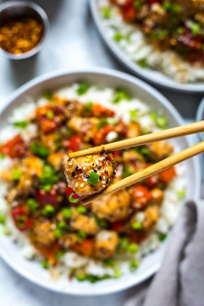 Instant Pot General Tso's Chicken