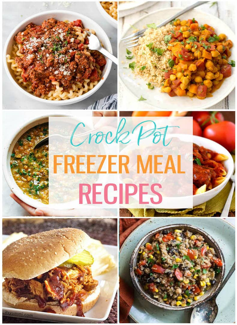 20 Easy Crock Pot Freezer Meals The Girl On Bloor