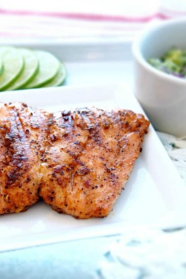 whole 30 grilled salmon
