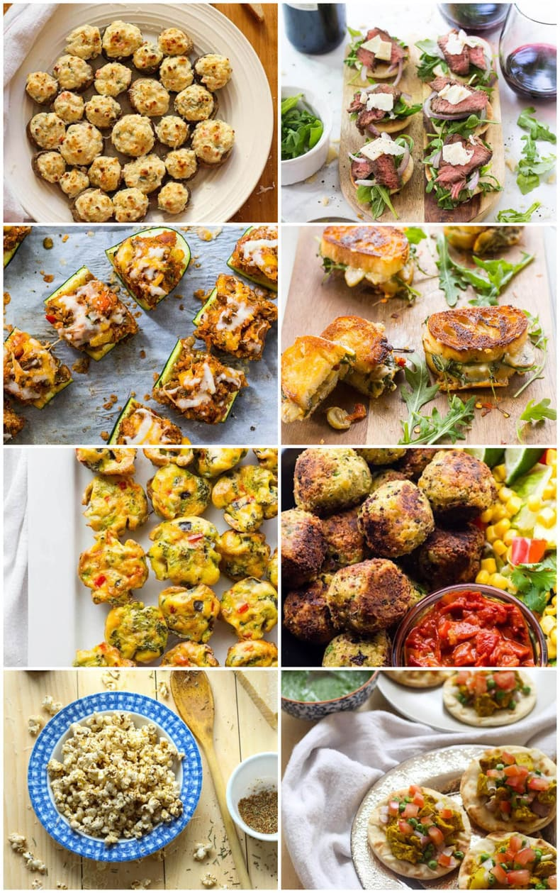 Easy Healthy Appetizers for the