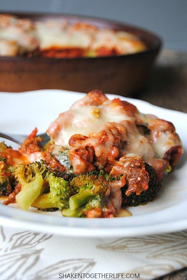 Broccoli Italian Sausage Bake