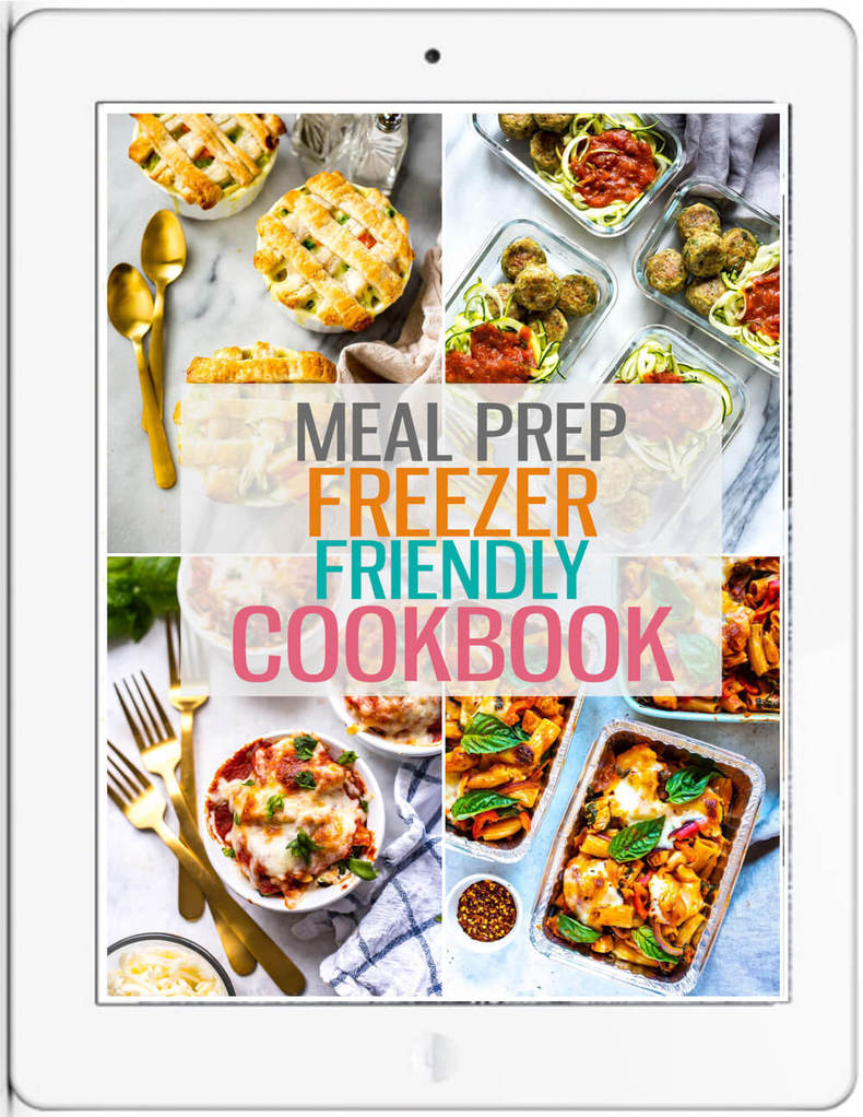 freezer cookbook cover