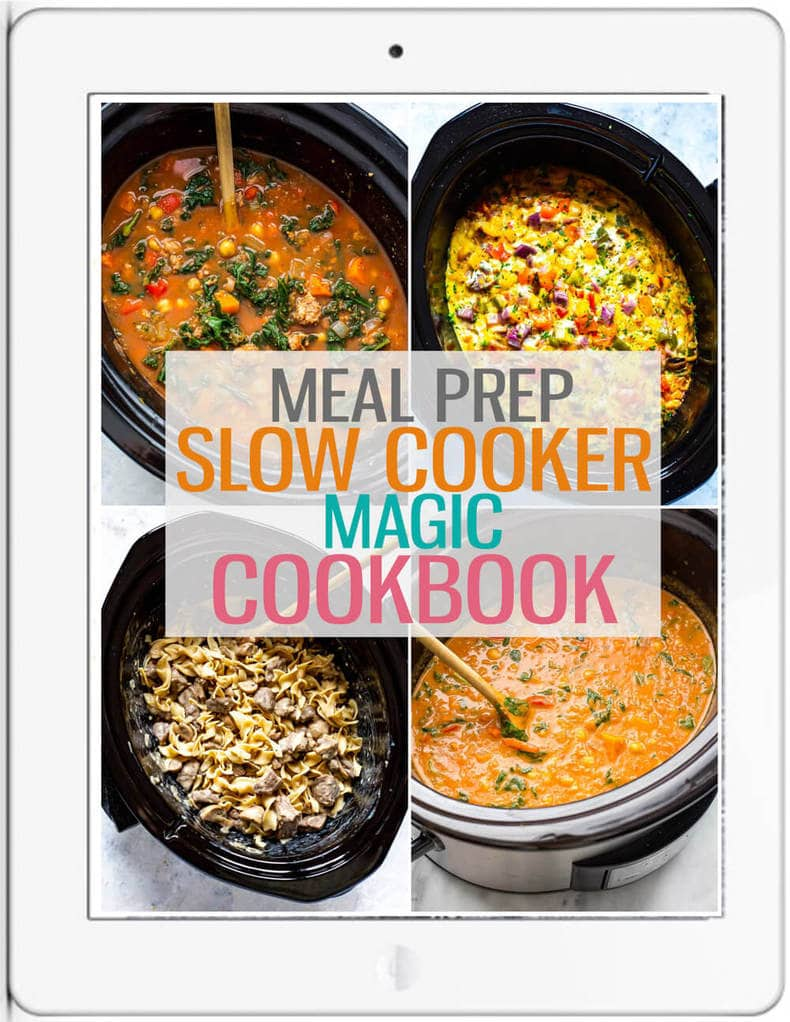 slow cooker cookbook cover