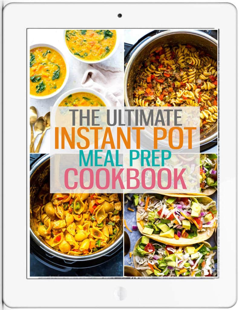 instant pot cookbook cover