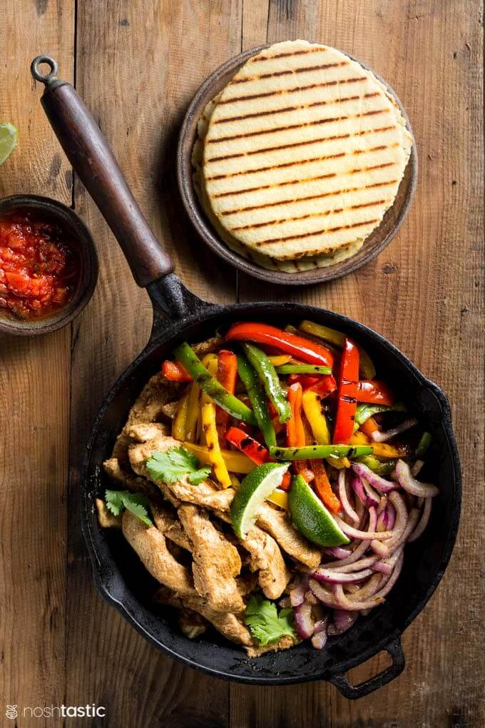 Low-Carb-Chicken-Fajitas