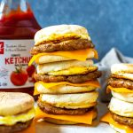 Meal Prep Egg and Sausage McMuffin