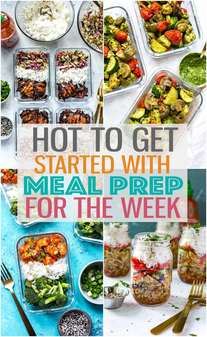 When you know how to meal prep, your life becomes SO much easier! No more scrambling to put together breakfast in the morning or buying lunch out - stick to this weekly meal prep routine to save time and money! #mealprep