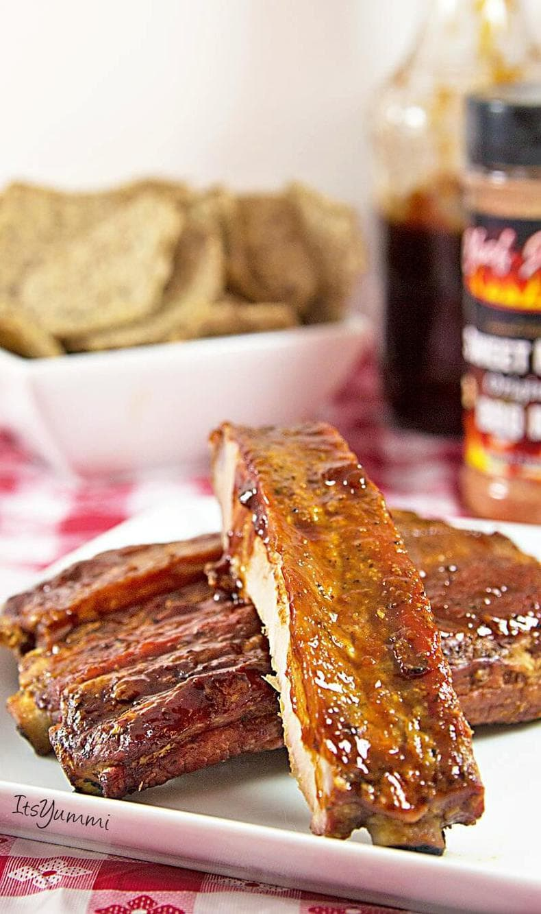 whole30 dinner idea - Cajun smoked spare ribs