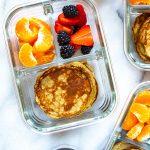 Meal Prep Banana Egg Pancakes