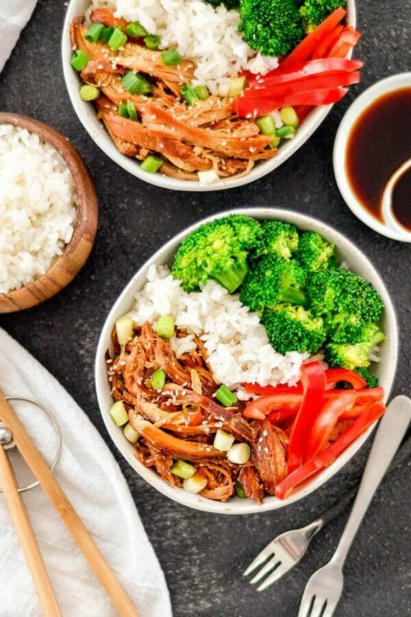 Gluten Free Slow Cooker Teriyaki Chicken
