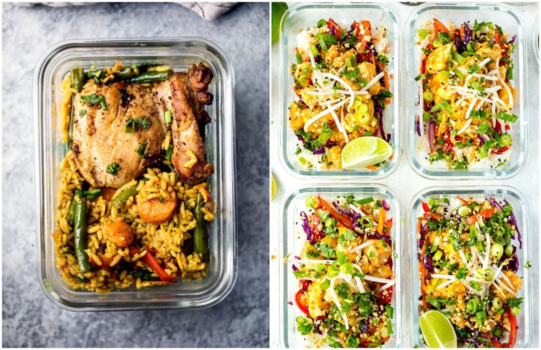 20 Easy Healthy Meal Prep Lunch Ideas for Work