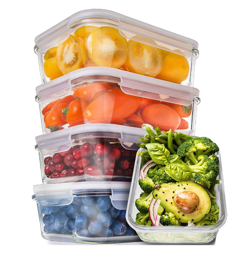 Here are the BEST Meal Prep Containers and Tools that help me keep on track with my weekly meal prep! Say goodbye to takeout and hello to healthy homemade meals that save you time and money! #mealprepcontainers #mealplanning