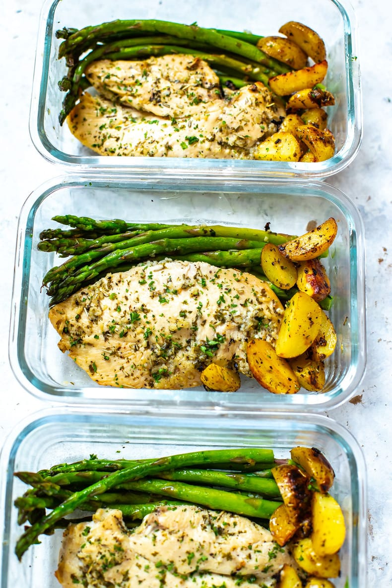 Sheet Pan Chicken and Asparagus