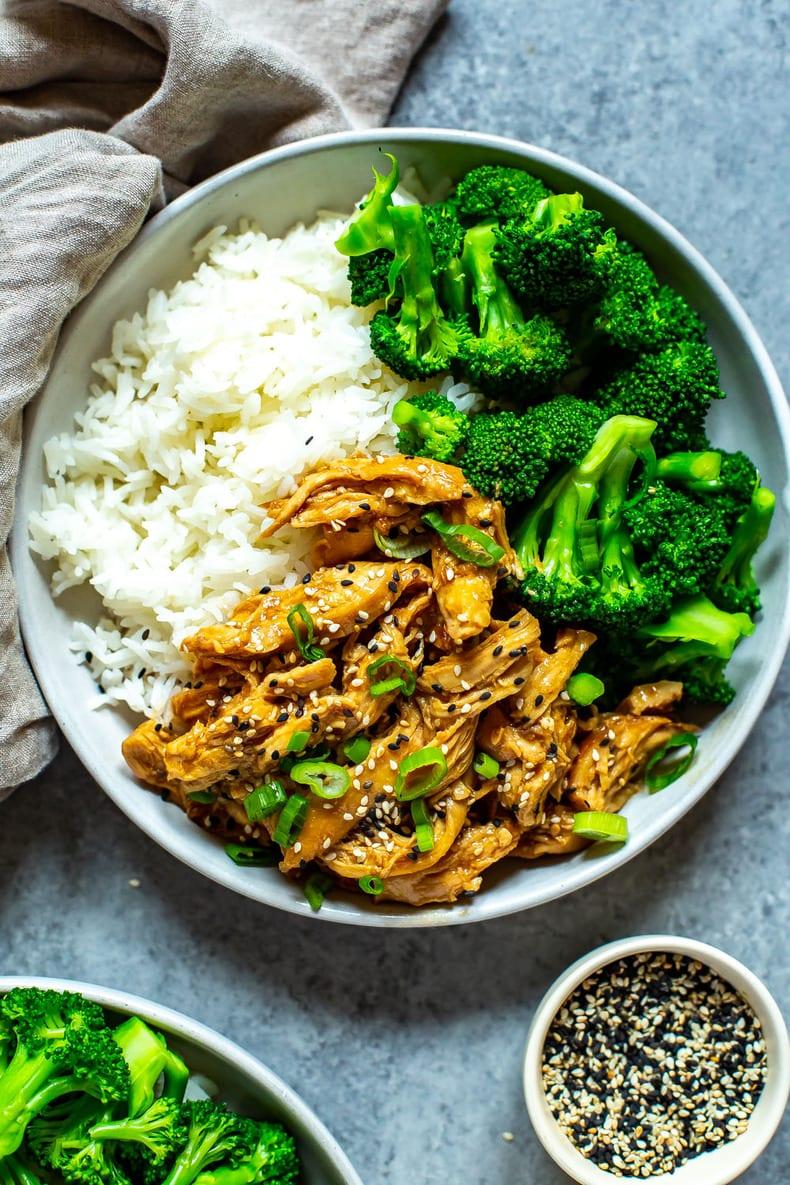 5 Ingredient Crock Pot Chicken Teriyaki The Girl On Bloor