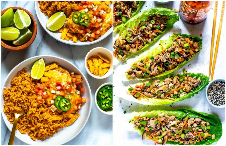 Healthy, Quick & Easy Dinner Ideas