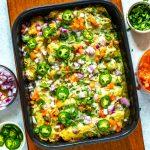Meal Prep Chicken Enchiladas Verdes