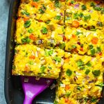 The Ultimate Sausage Hashbrown Breakfast Casserole