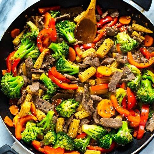 The Easiest Beef Stir Fry