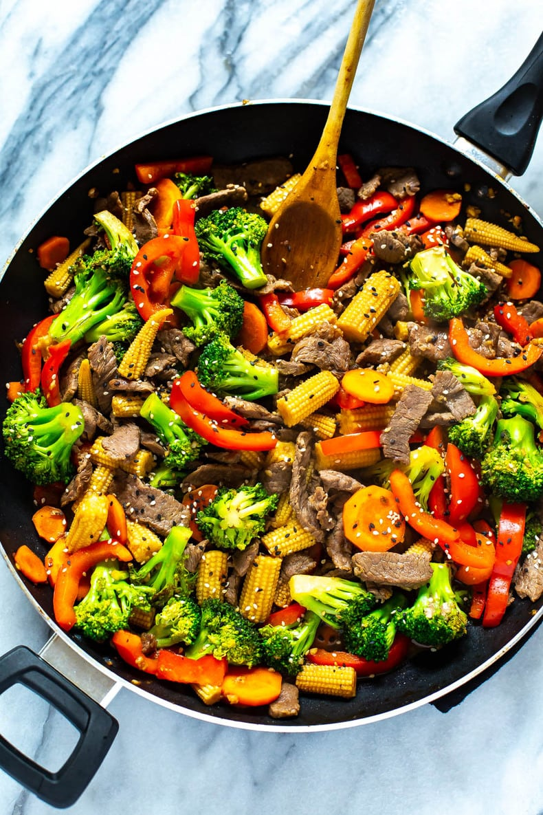 The Easiest Beef Stir Fry 2 Ingredient Sauce The Girl On Bloor