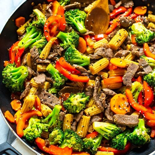 The Easiest Beef Stir Fry