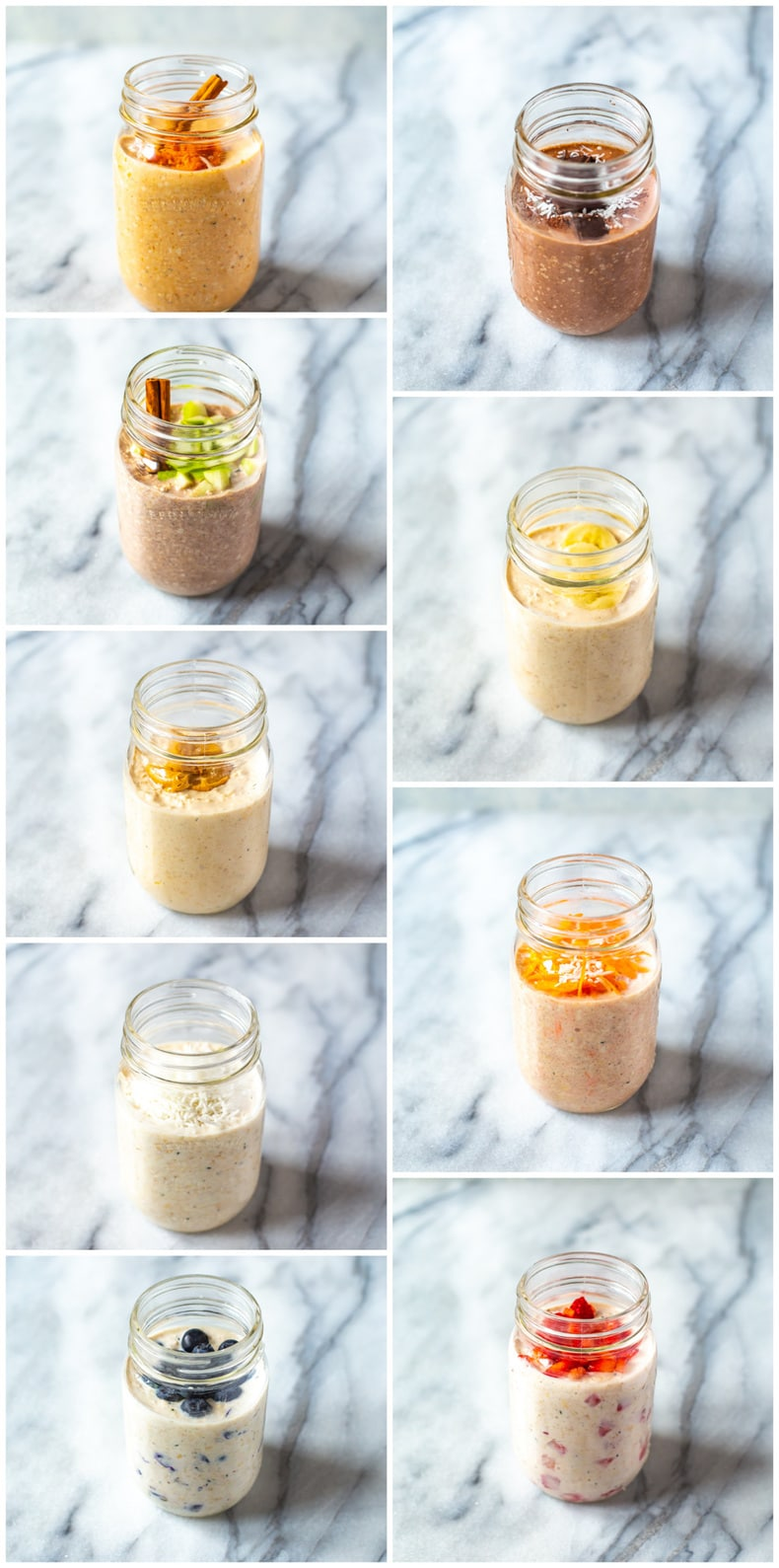 Overnight Oats 9 Ways - Easiest Recipes and Tips!