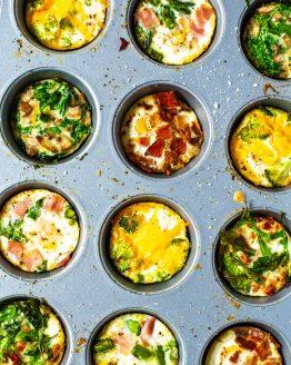 Baked Eggs 5 Ways