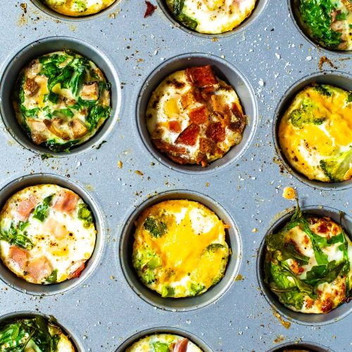 Baked Eggs 5 Ways