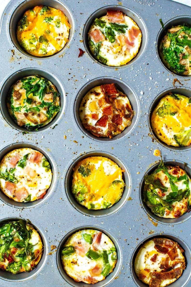Baked Eggs 5 Ways Meal Prep Breakfast The Girl On Bloor
