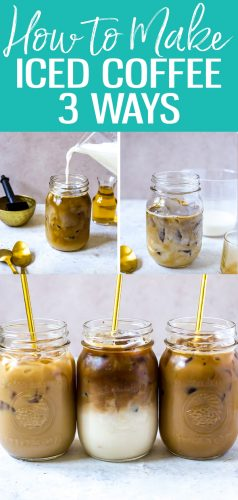 These 3 Iced Coffee Recipes are sure to please during the summer months! #icedcoffee