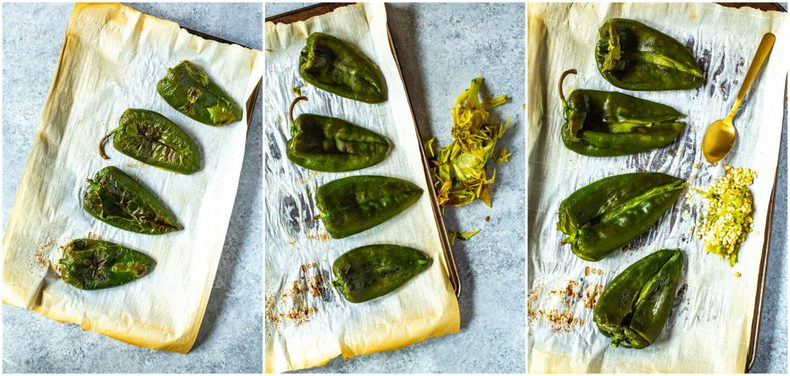 fire roasted poblano peppers