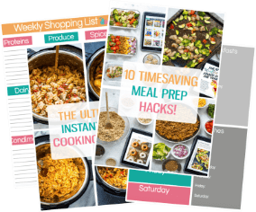 meal prep newsletter ebooks