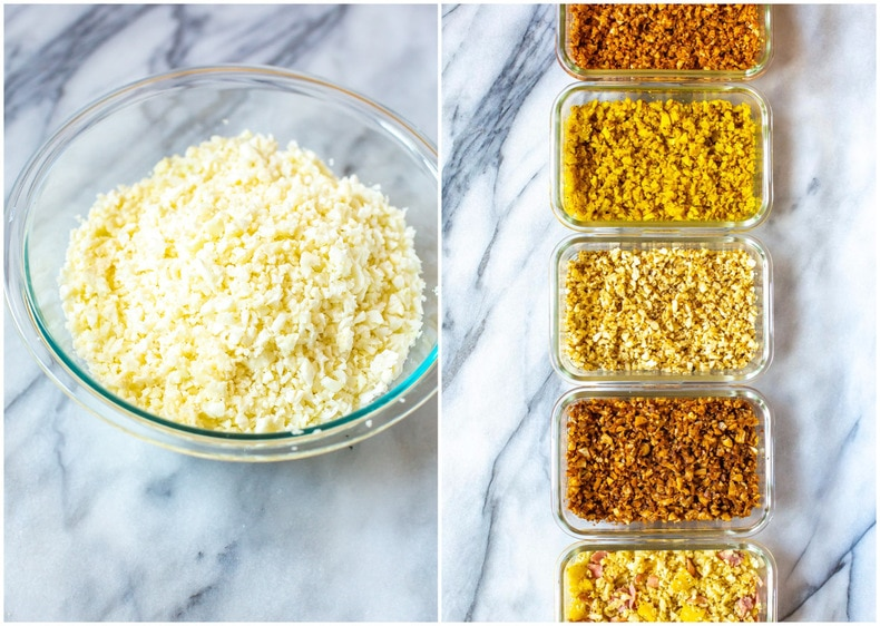 How to Make Cauliflower Rice 5 Ways