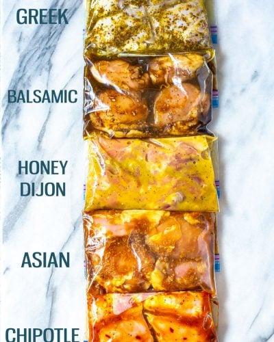 Delicious Chicken Thigh Marinades - 5 Ways