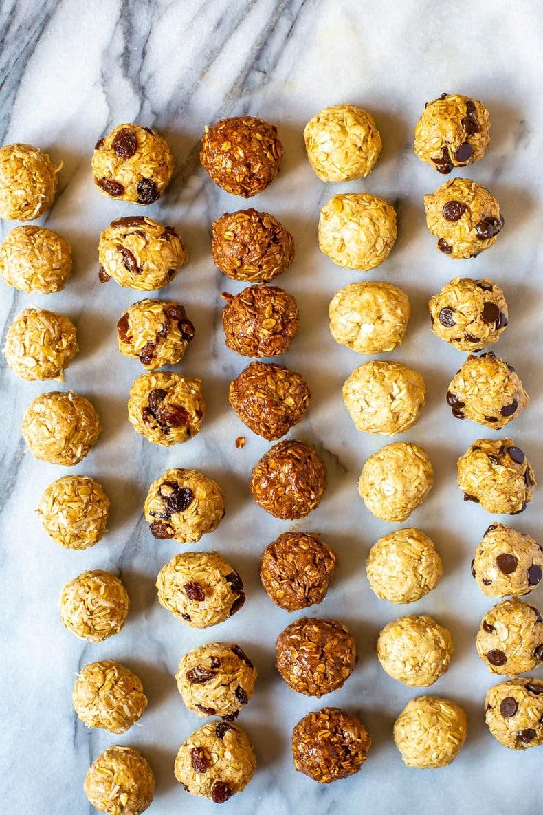 Protein Balls 5 Ways