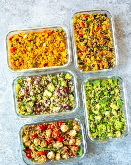 Quinoa Salad 5 Ways