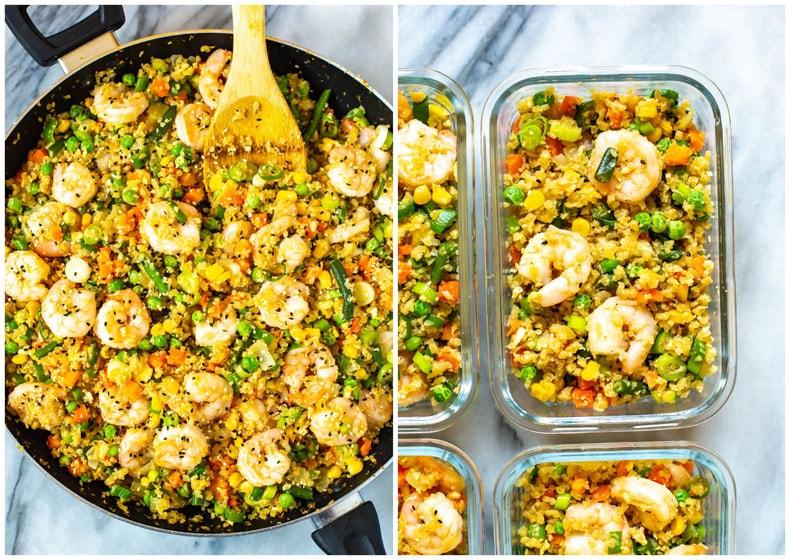 The Best Cauliflower Fried Rice