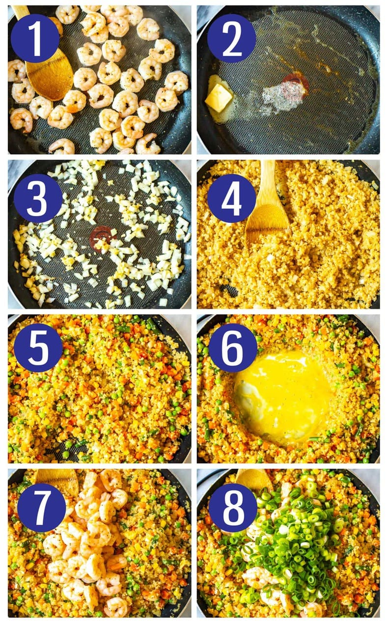 The Best Cauliflower Fried Rice Low Carb The Girl On